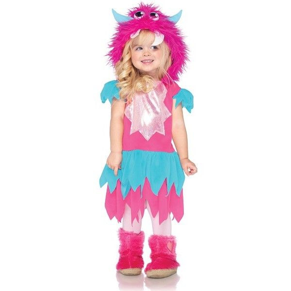 Adorable Sweetheart Monster Toddler Costume!