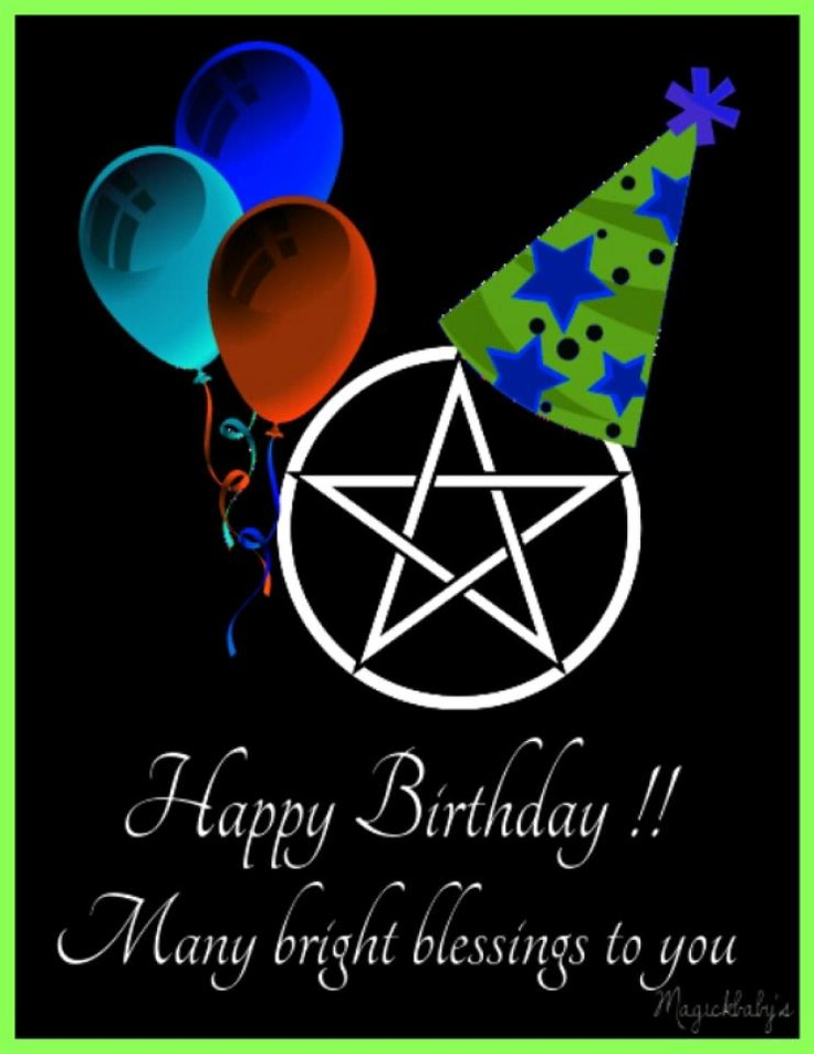 pagan wiccan birthday by magickbaby Happy Birthday to me!!! 7/17