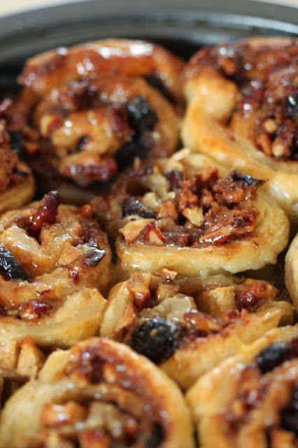 Apple Cranberry and Pecan Sticky Buns | Breads.. Breads.. Breads | Pi ...