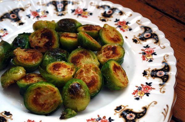 Recipe: Sautéed Brussels Sprouts | Yum | Pinterest