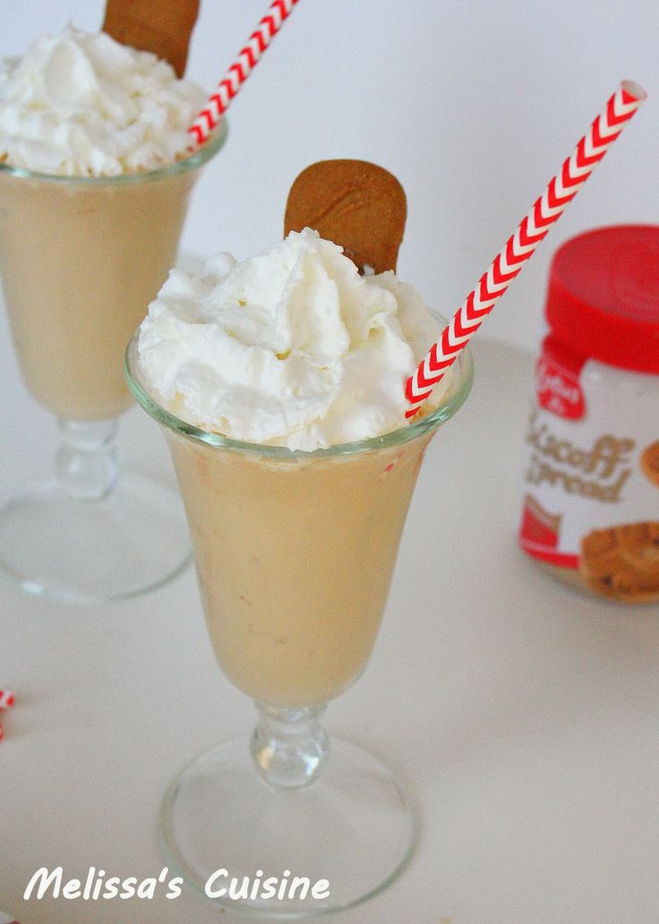 Melissa's Cuisine: Biscoff Shakes | Desserts and Treats | Pinterest