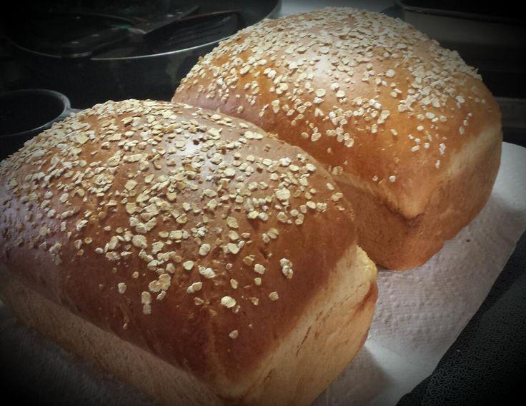 Honey Oatmeal Bread for Your Kitchenaid Mixer | Recipe