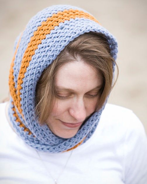 Free Knitting Pattern For Mobius Cowl : Project: Crocheted Mobius Cowl
