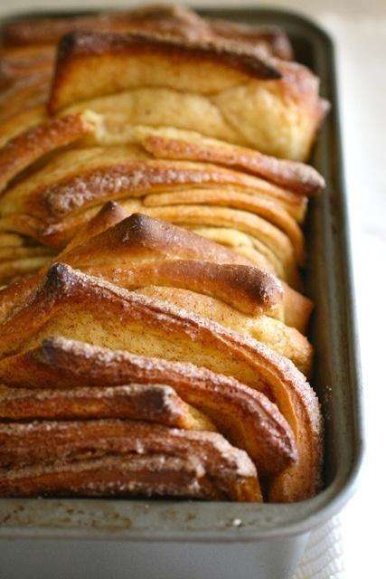 cinnamon sugar pull-apart bread #wowza