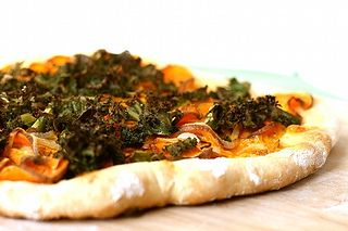 Sweet Potato Kale Pizza With Rosemary & Red Onion Recipes — Dishmaps