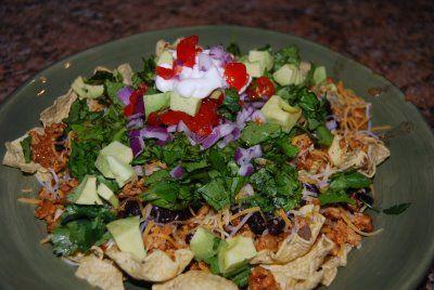 Turkey nachos | Healthy appetizers | Pinterest