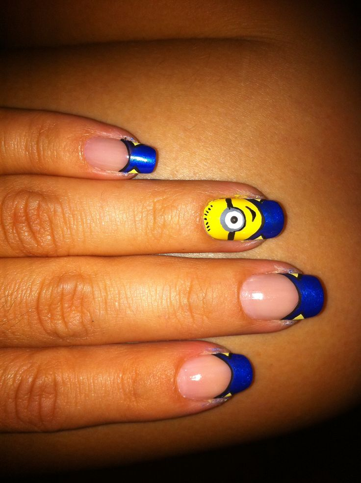 u as minions u as decoradas nail art pinterest