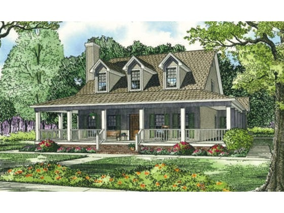 Pin by katie holliday on house plans pinterest for Ranch style house plans with basement and wrap around porch