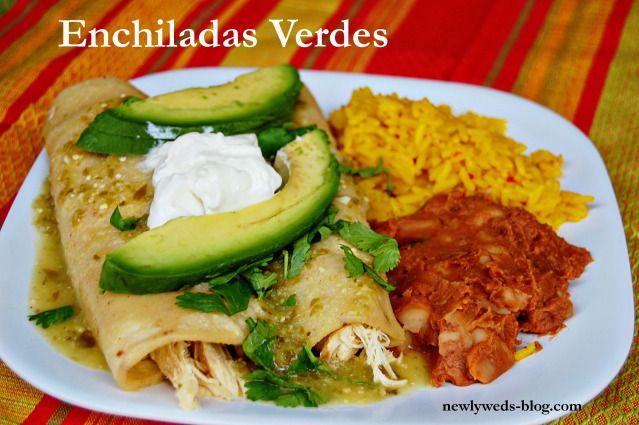 Enchiladas verdes   Recipes   Pinterest
