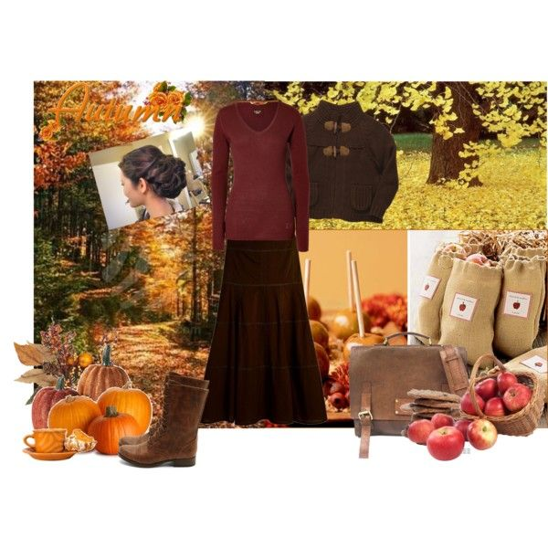 """Modest Fall Outfit"" by christianmodesty on Polyvore"