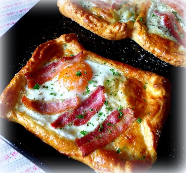 Quick and Easy Bacon and Egg Tarts from The English Kitchen using ...