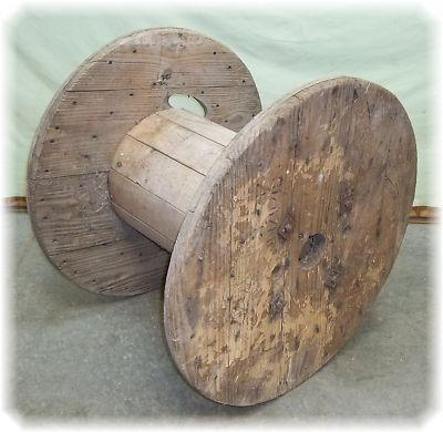 Cable spool - makes a good table   Dead in the Desert   Pinterest