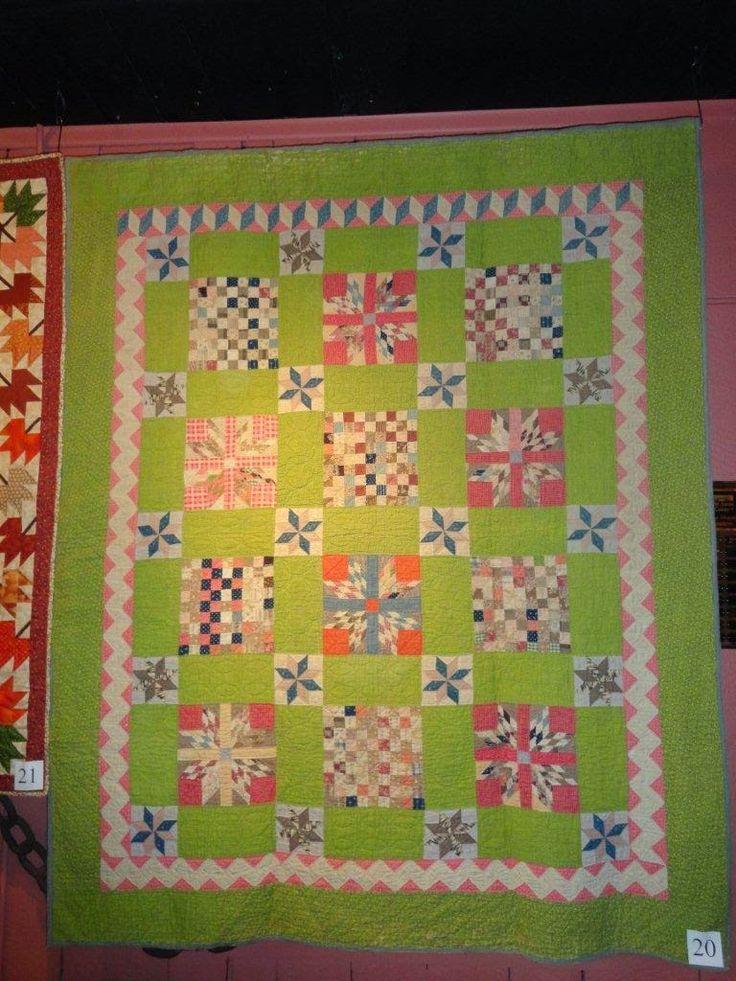 Zig zag border Quilts Primitive/ Antique Pinterest