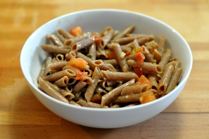 Pasta With Tuna And Capers In White Wine Sauce Recipe ...