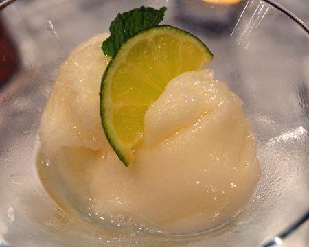 Fat-Free Key Lime Sorbet | Recipe