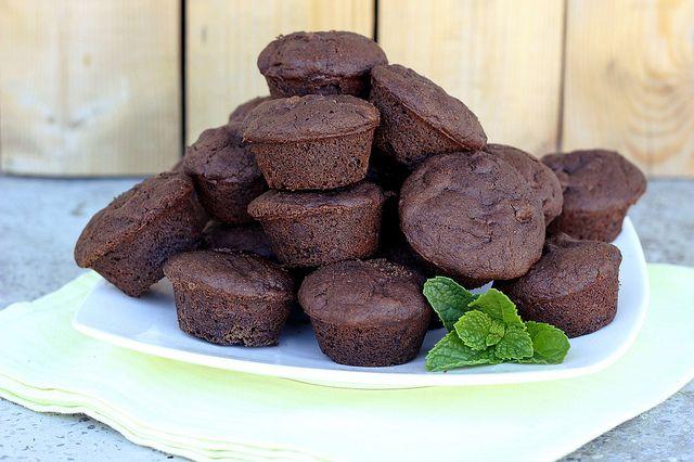 Mint Chocolate Chip Brownie Bites - Gluten-free + Vegan by Tasty ...