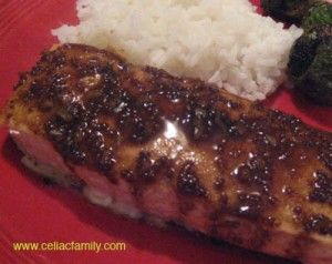 Balsamic-Glazed Salmon