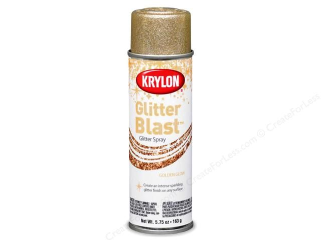 krylon glitter blast paint adds glitz to almost any surface in one. Black Bedroom Furniture Sets. Home Design Ideas
