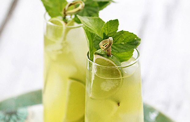 Pineapple Limeade Cooler | cocktails! | Pinterest