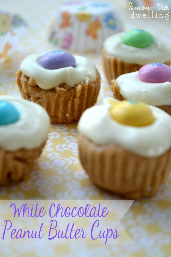 White Chocolate Peanut Butter Cups | Sweet and Tasty | Pinterest