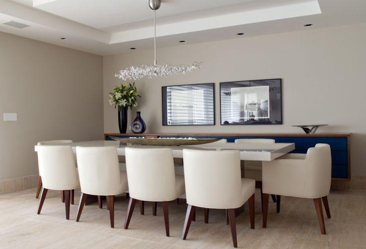 projeto de decoração do apartamento da designer de interiores