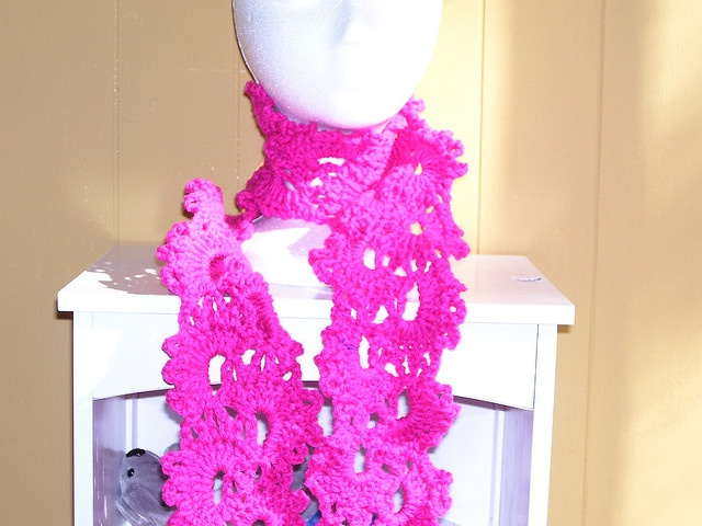Queen Annes Lace Scarf: free pattern All things Crochet Pinterest