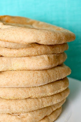 Whole Wheat Pita Bread. You can use garbonzo flour instead of bread ...