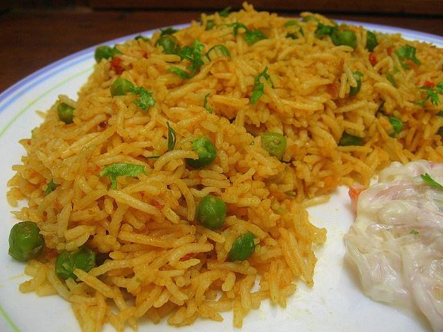 Easy n Spicy Peas Biriyani | Food | Pinterest