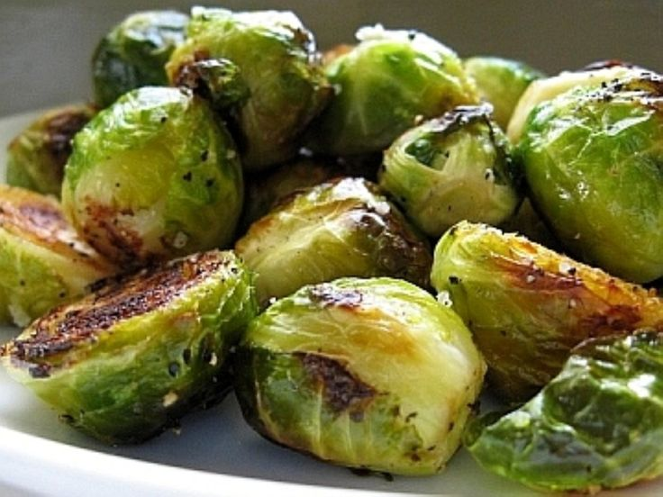 Roasted Brussels Sprouts | Healthy | Pinterest
