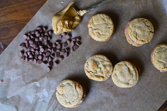 Peanut Butter Cookie Sandwiches With Milk Chocolate Buttercream ...