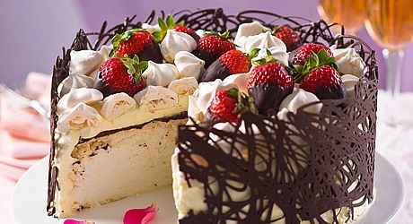 berries and chocolate | Chocolate and Berry Pavlova Cake - Browse all ...