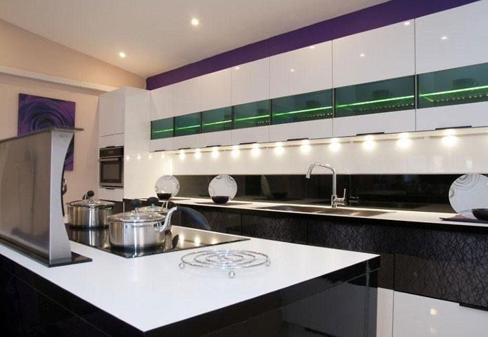 showroom of nobilia german kitchen design from audus kitchens