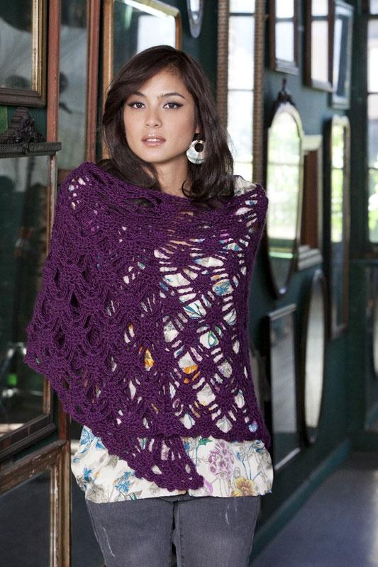 Bohemian Shawl crochet Pinterest