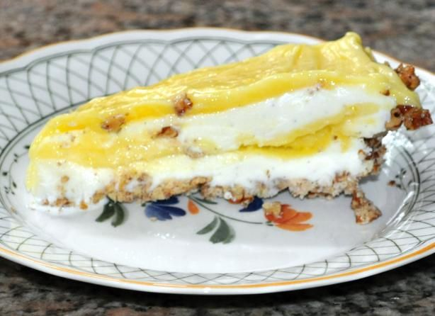 lemon meringue ice cream pie in toasted pecan crust meringue pie lemon ...
