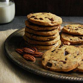 and pecan cookies chocolate pecan layered icebox cookies recipe yummly ...