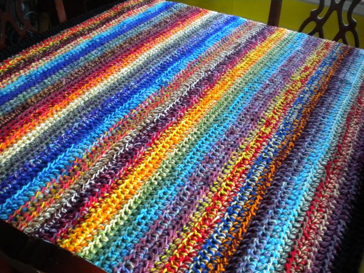 Crochet Pattern Two Color Afghan ~ Pakbit for .