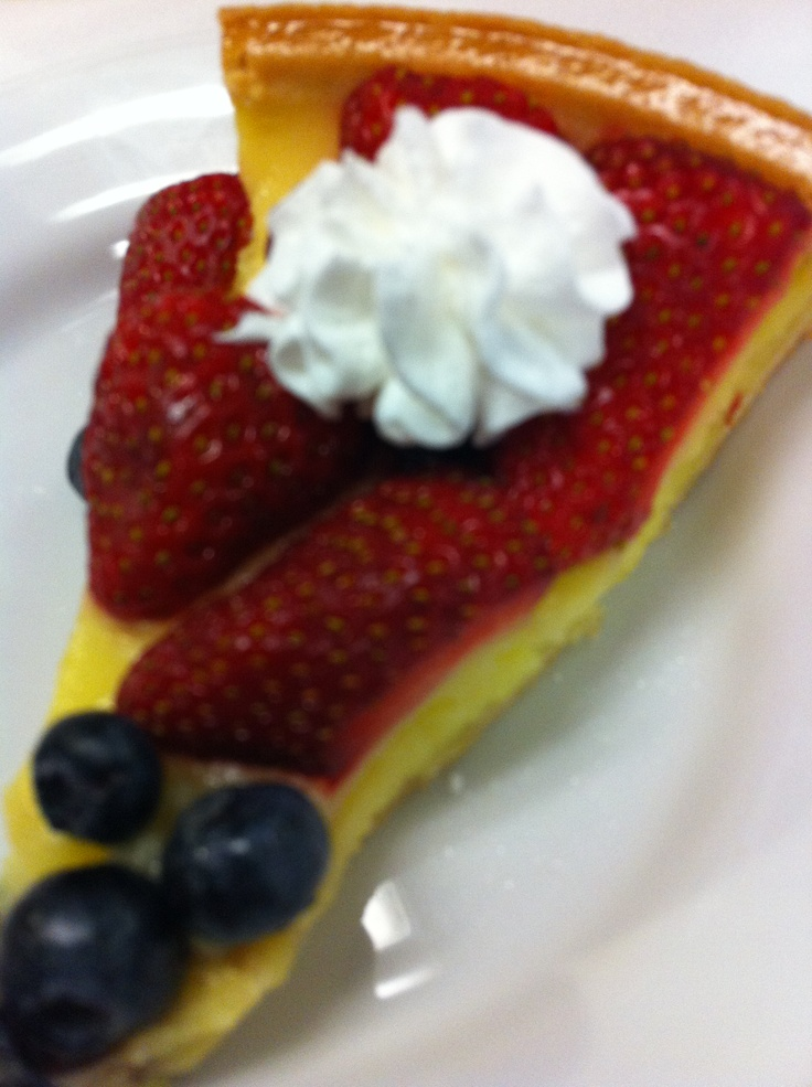 Strawberry And Blueberry Tarts Recipe — Dishmaps