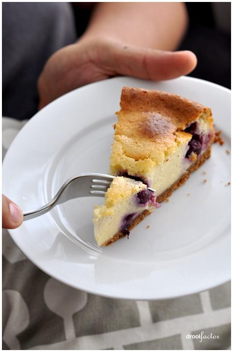 Baked Blueberry Cheesecake | Good & Tasty | Pinterest