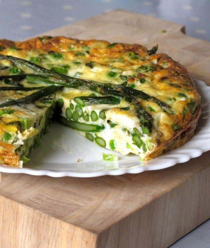 Asparagus Frittata | Veggies | Pinterest