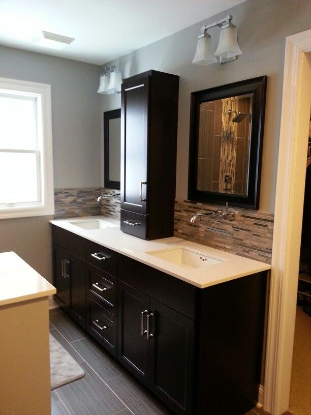 Master bathroom vanity bathroom pinterest