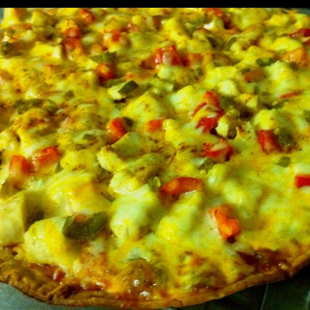 Chicken fajita pizza | Delicious Food | Pinterest