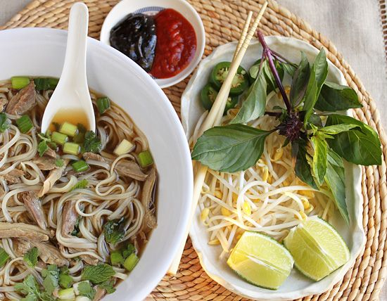 Turkey Pho | Want a soup or salad with that... | Pinterest