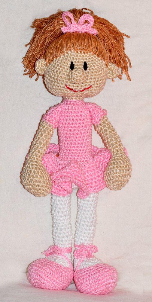 Amigurumi Ballerina Pattern : crochet pattern, amigurumi, doll, ballerina, ballet - pdf ...