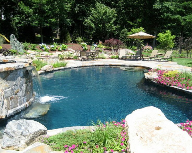 Pin by cressy martinez on pool patio designs pinterest for Pool landscaping ideas on a budget