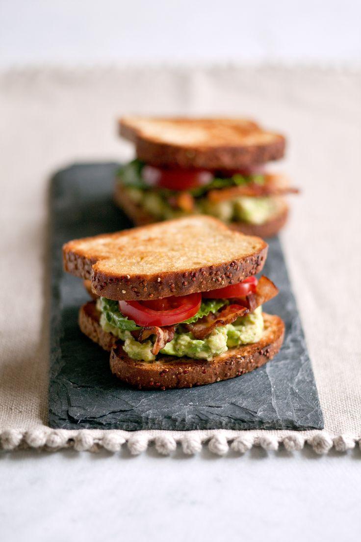 BLT with Avocado Spread | Healthy eats | Pinterest