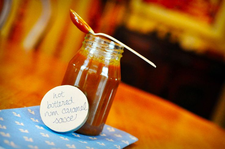 How to Make Hot Buttered Rum Caramel Sauce | Recipe
