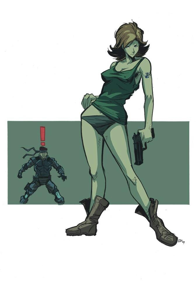 metal gear solid meryl sexy pictures gain