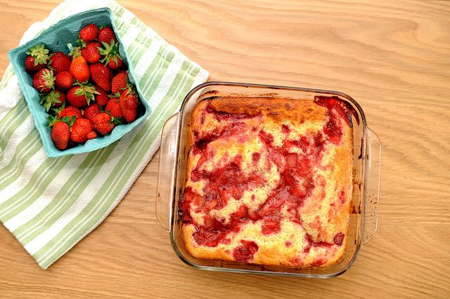 strawberry rhubarb buttermilk pudding cake by sassyradish, have tried ...