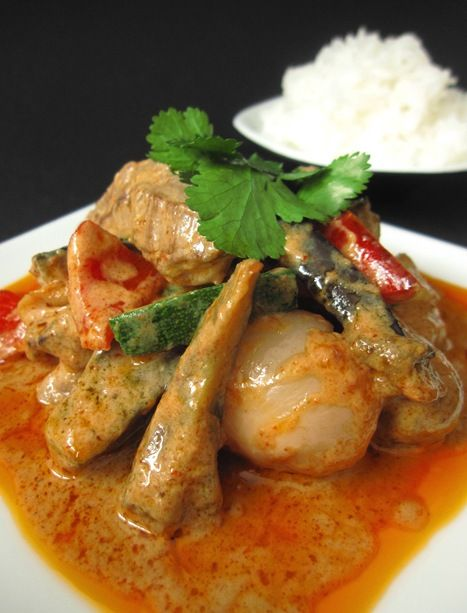 Thai Red Curry | Creative Cooking | Pinterest