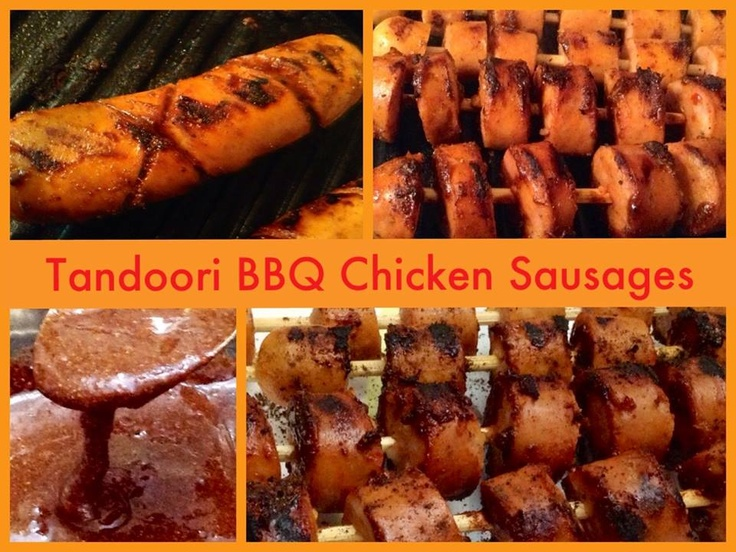 ... tandoori BBQ sauce and grill till a little sticky and caramalised (3-4